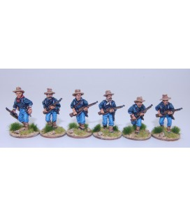 US Federal Infantry advancing
