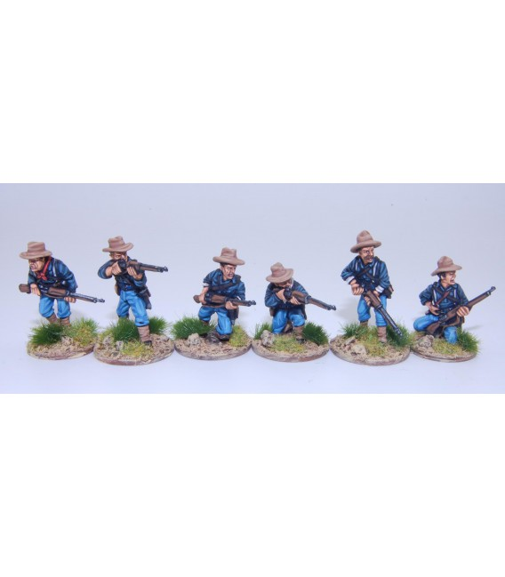 US Federal Infantry skirmishing