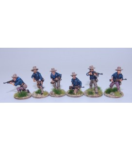 US Dismounted Cavalry /Rough Riders skirmishing