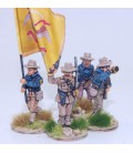 Grupo de mando de caballería desmontada EE.UU./Rough Riders