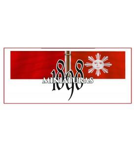 Primera bandera nacional filipina