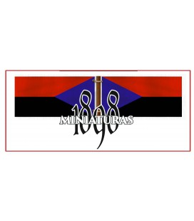 Bandera filipina del gral. Gregorio del Pilar