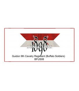 Guión de compañía, 9.º de Caballería (Buffalo soldiers)