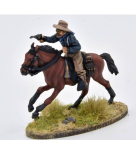 Theodore Roosevelt mounted