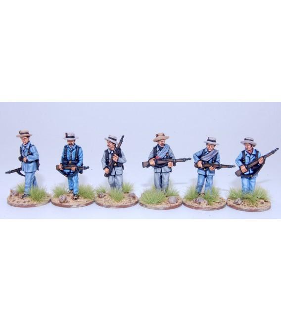 Infantería española avanzando