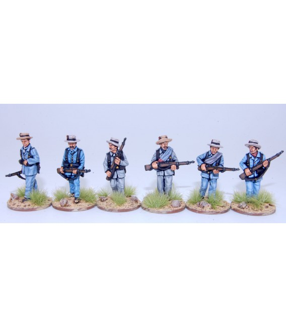 Spanish infantry advancing