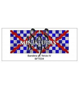 Bandera de Tercio IV