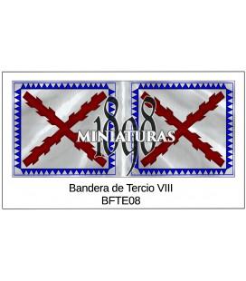 Bandera de Tercio VIII
