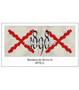 Bandera de Tercio XI