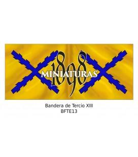 Bandera de Tercio XIII