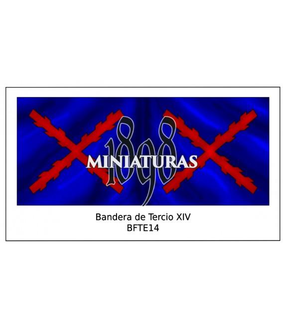 Bandera de Tercio XIV
