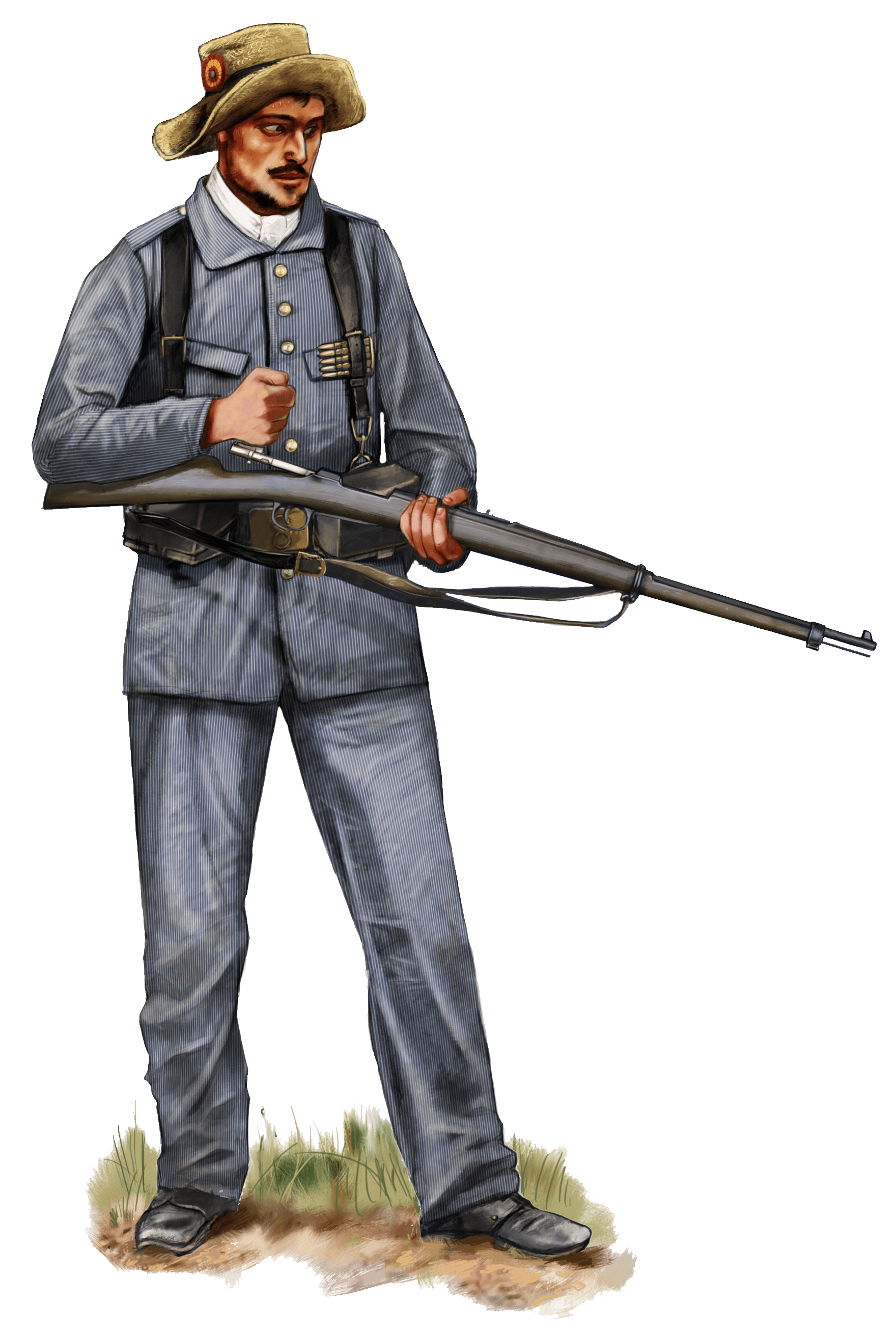 Rayadillo uniforme uniform
