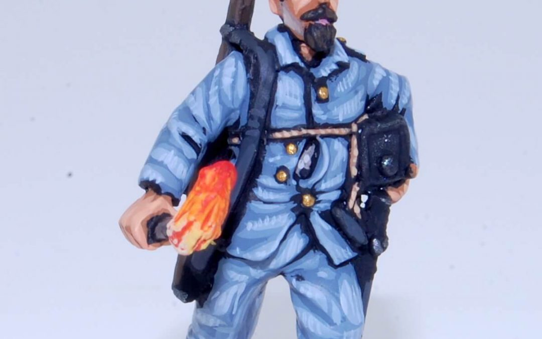 Exclusive miniature! Eloy Gonzalo, the hero of Cascorro
