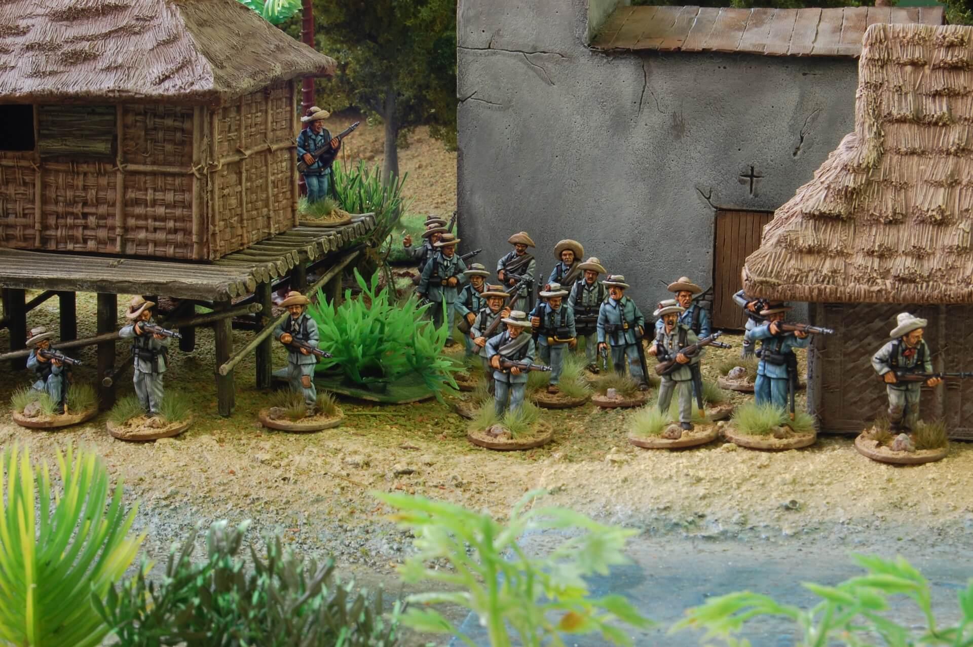 Rules to wargaming Philipinnes War - 1898 Miniaturas