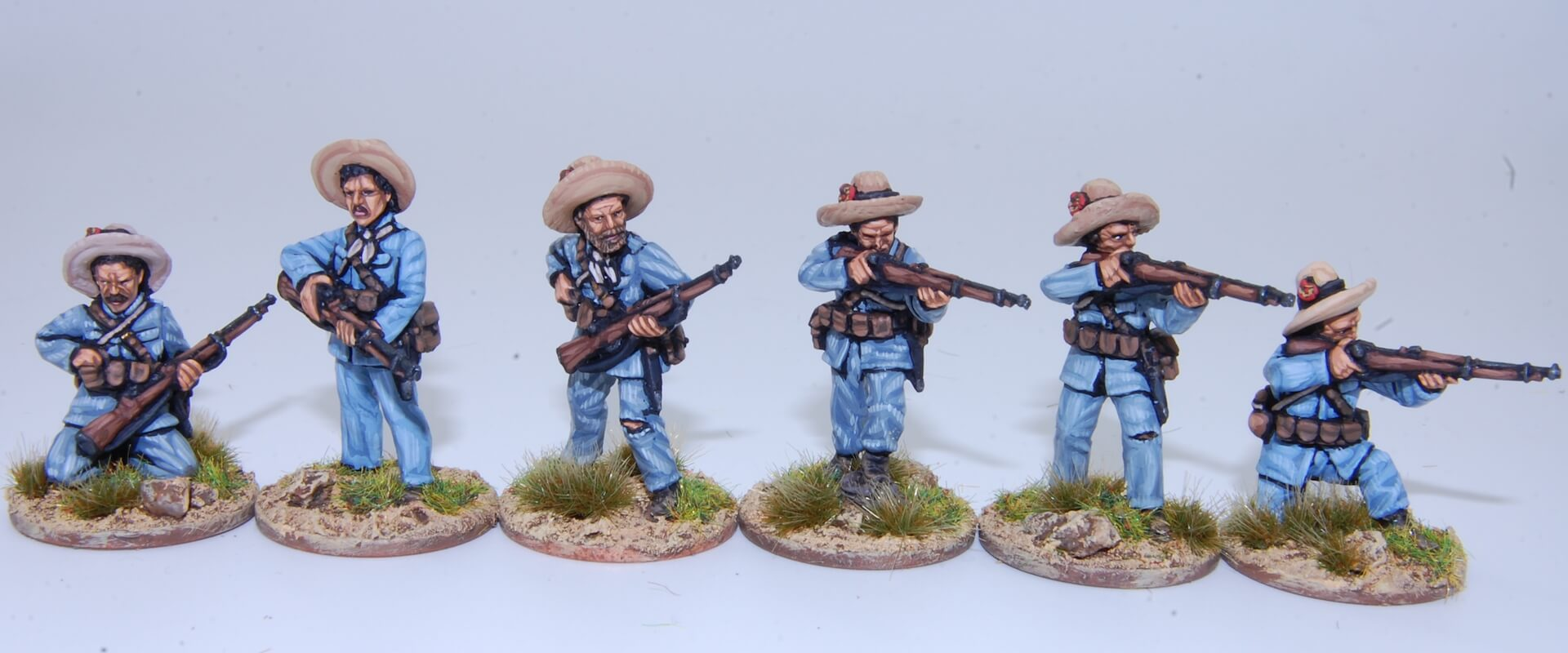 Rules to wargaming Philipinnes War - 1898 Miniaturas