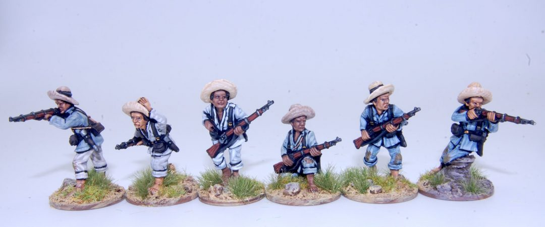 FL3-Filipino infantry skirmishing, Spanish native troops/Tagalog insurgents