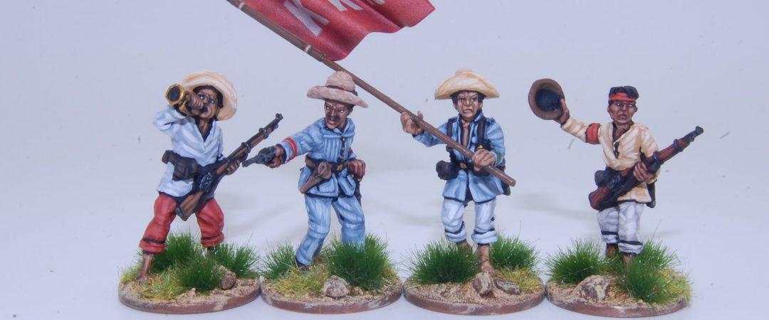 FL1B-Tagalog insurgent command group