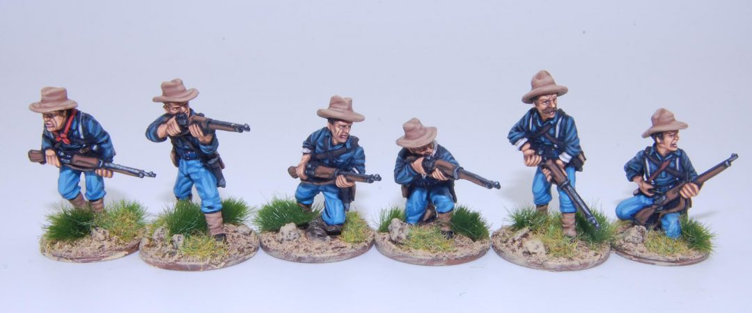 US3-US Federal Infantry skirmishing
