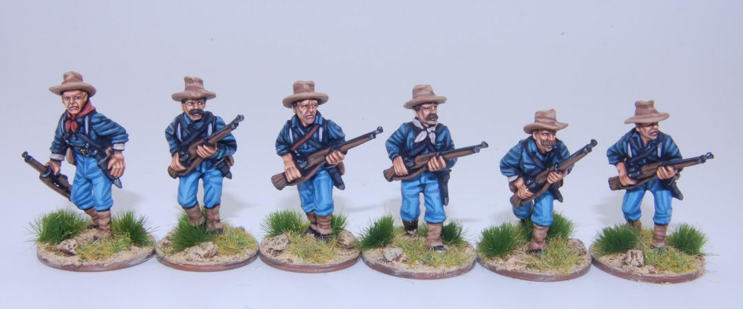 US2-US Federal Infantry advancing