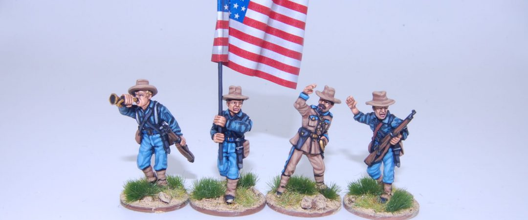 US1-US Federal Infantry command group