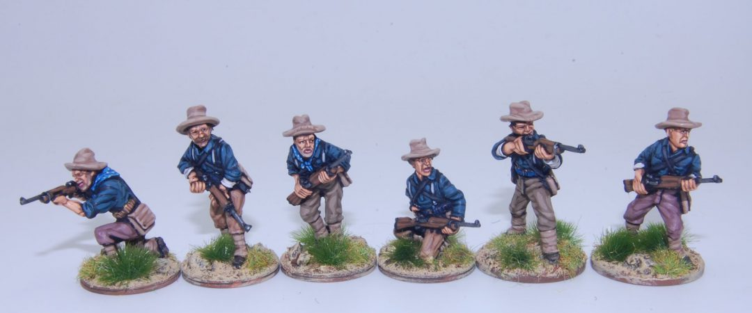 US6-US Dismounted Cavalry/Rough Riders skirmishing