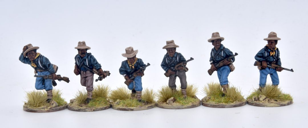 US8-9th & 10th Cavalry (Buffalo soldiers) advancing