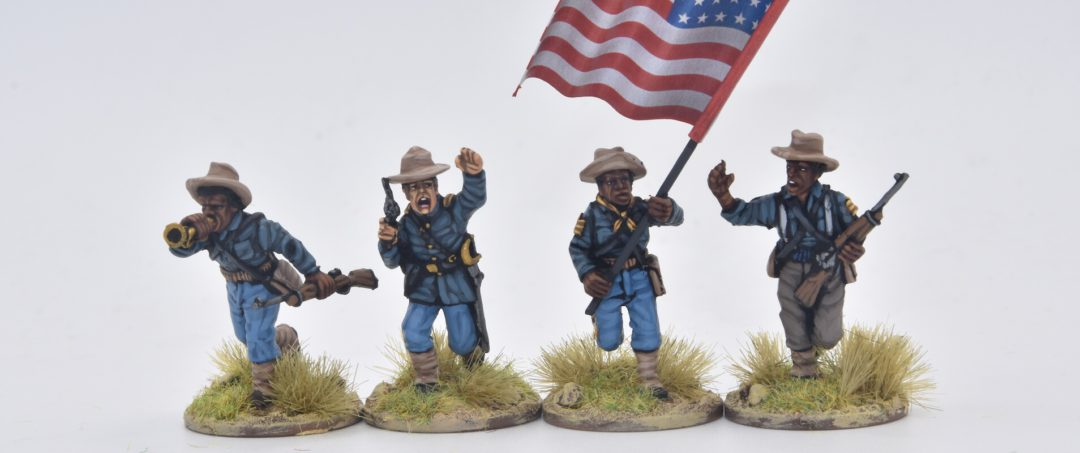 US7-Command group 9th & 10th Cavalry (Buffalo soldiers)