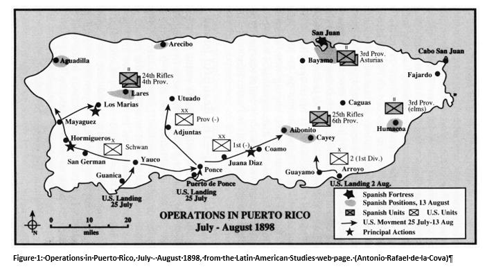 Wargame Puerto Rico Black Powder