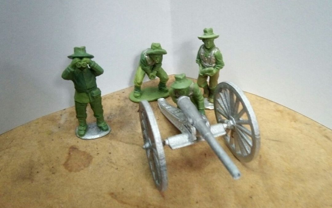 US and Spanish Artillery soon available