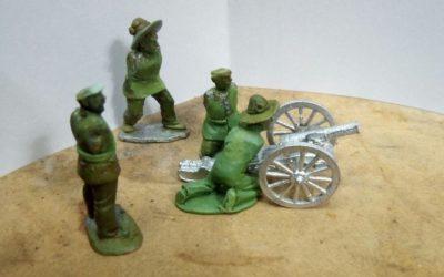 Artillería española y estadounidense, próximamente