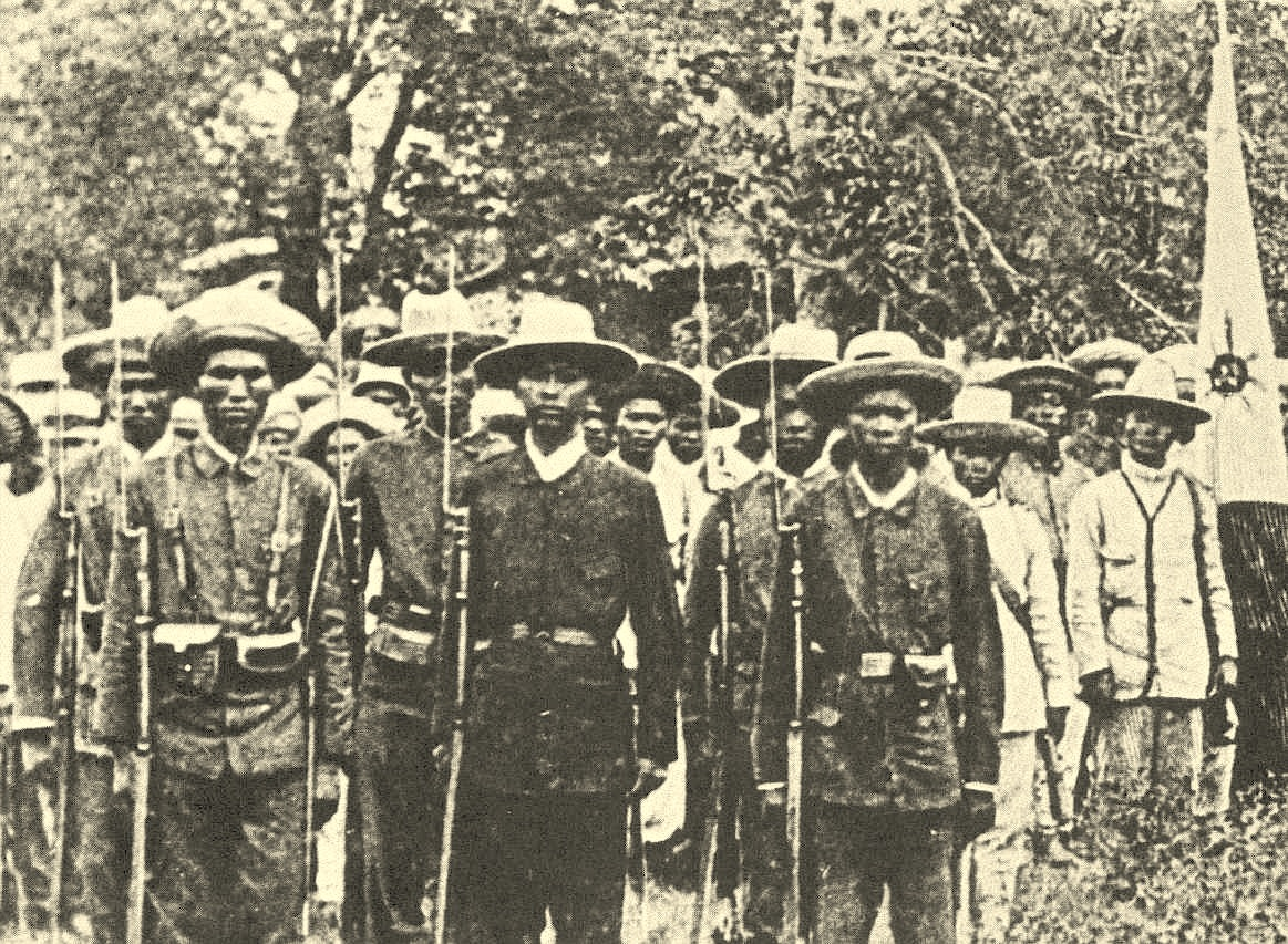 History of the Filipino Revolt and the War at the Philippines (1896