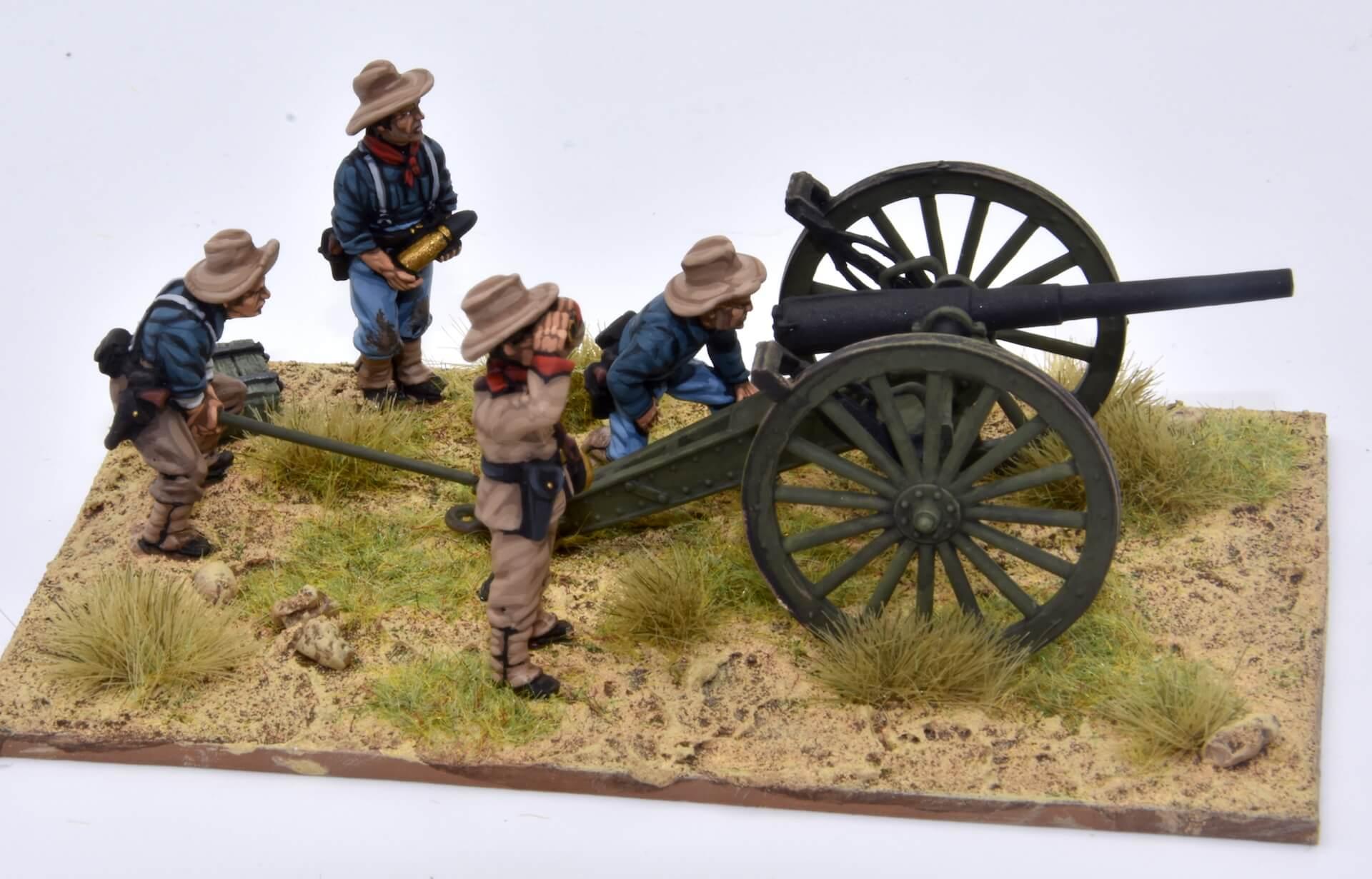 M1897 3.2-inch field gun cañón de campaña M1897 de 3,2