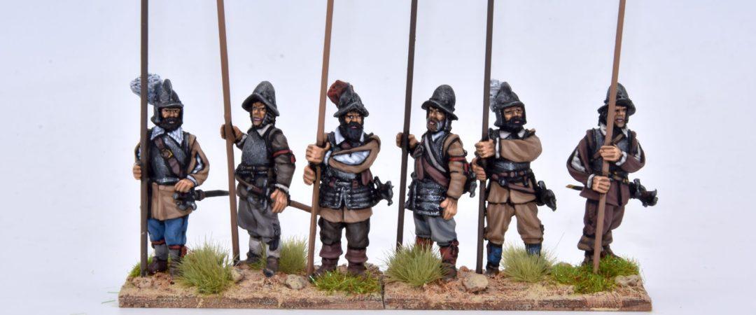 TE3-Piqueros con armadura, pica vertical