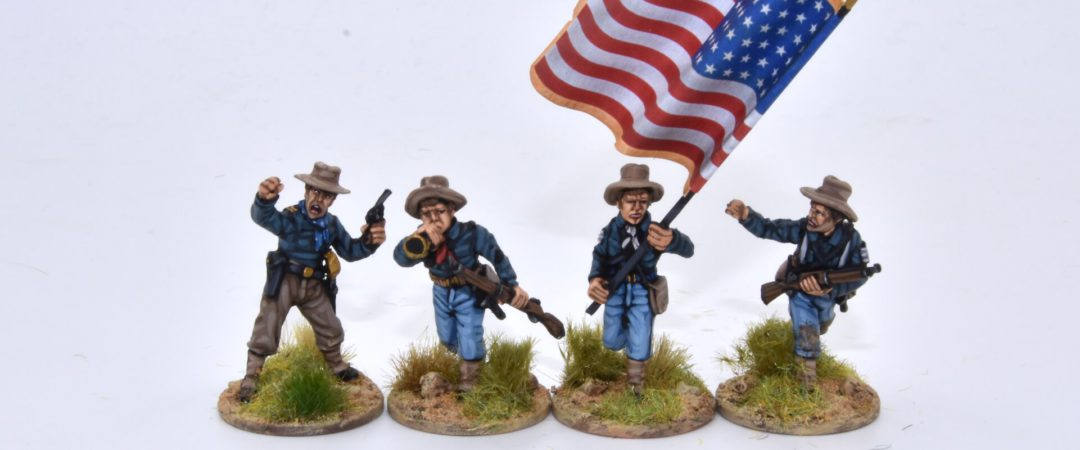 US13-US Infantry/Cavalry command group