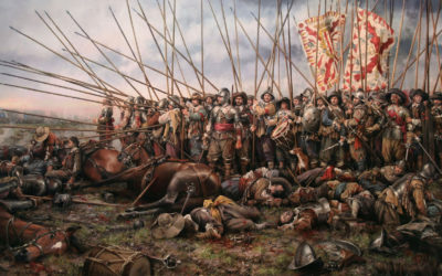 The battle of Rocroi, 19th May 1643
