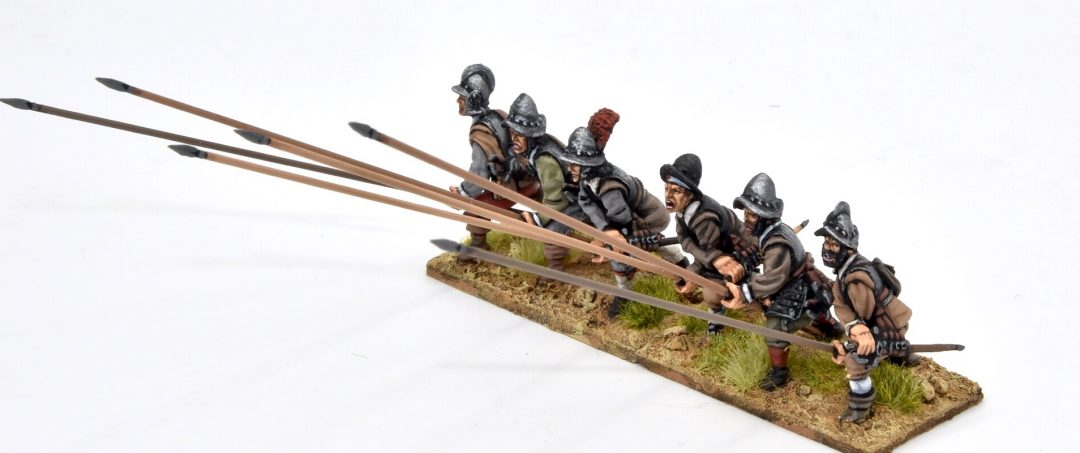 TE15-Spanish Tercios pikemen receiving cavalry