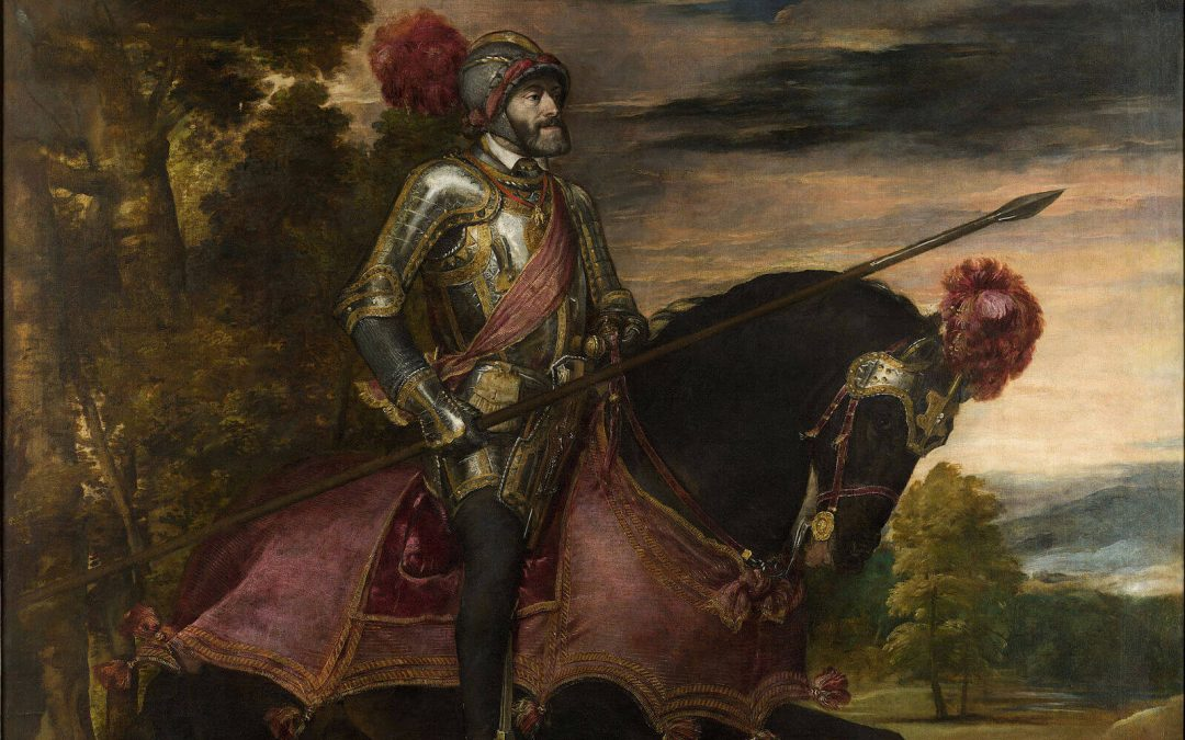 Carlos V batalla de Mühlberg Charles V battle of Mühlberg 1547 Tiziano