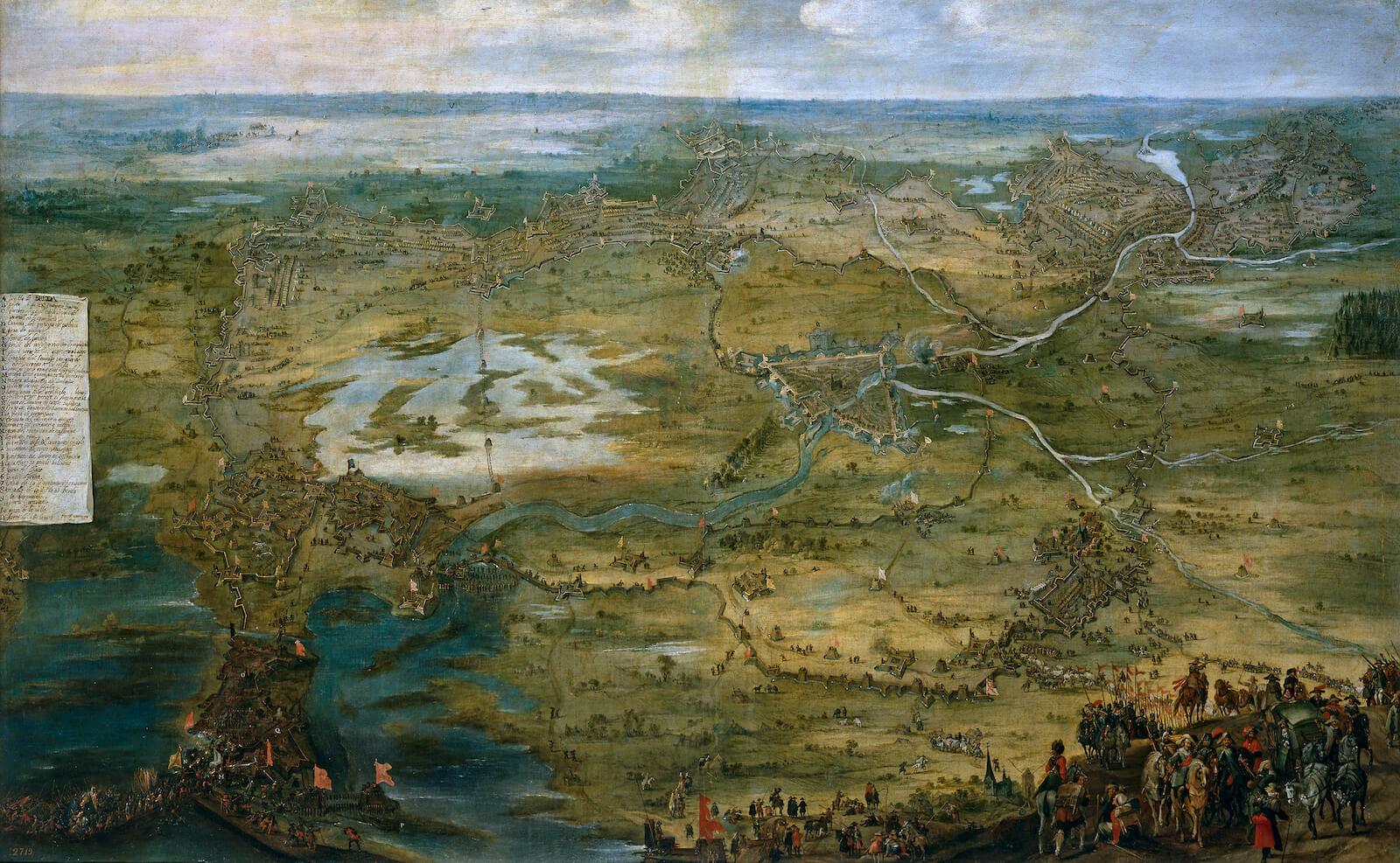 sitio de breda spínola 1624-1625 siege of breda Snayers