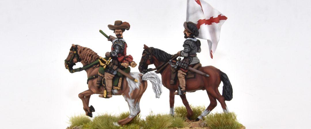TE17-Spanish general and cornet