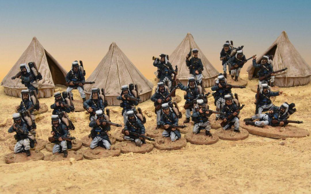 French Foreign Legion Legion Etrangere 28 mm miniatures 189o Miniaturas