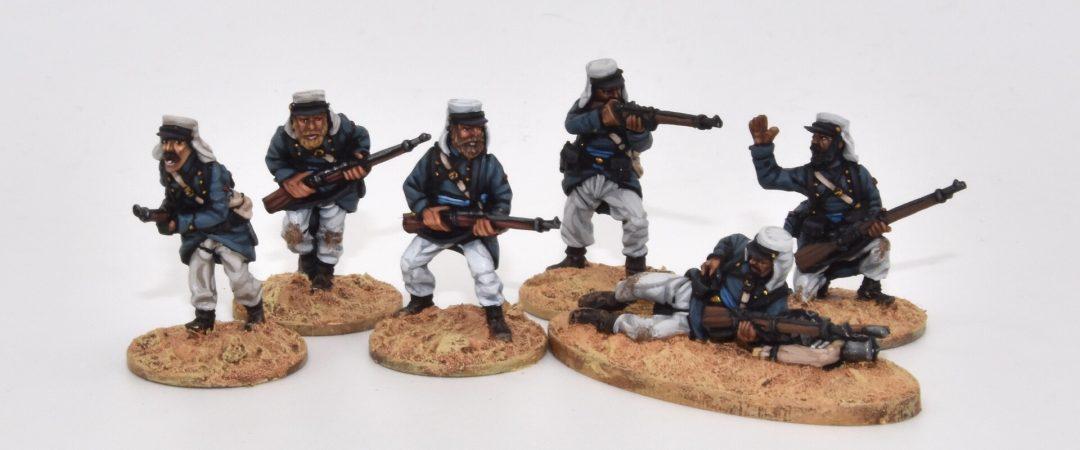 LE11-Legionarios en escaramuza, equipo ligero de campaña
